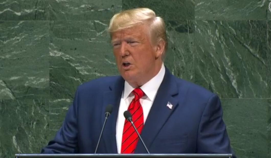 Trump's 2019 UN Speech